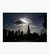Afternoon Streetscape Photographic Print