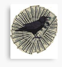 Raven Hundreds Canvas Print