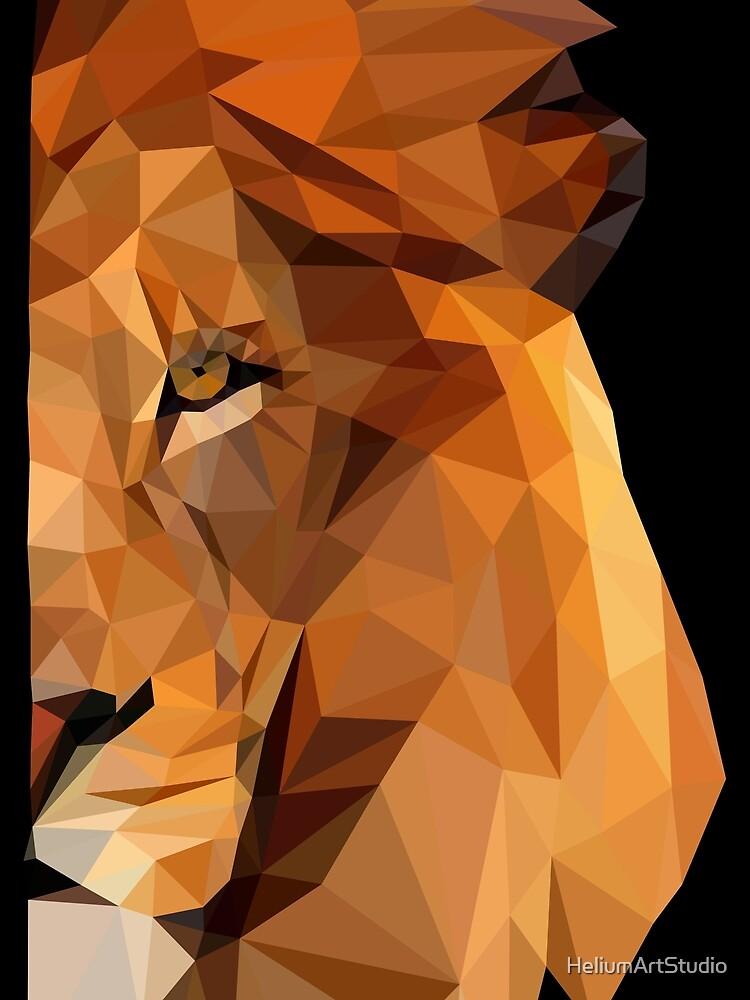 LION - ISOMETRIC by HeliumArtStudio
