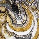 Stone Prose Gold Geode by mindydidit