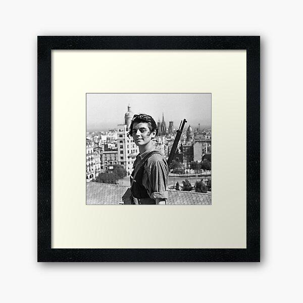 Marina Ginesta - The Left is Beautiful Framed Art Print