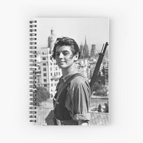 Marina Ginesta - The Left is Beautiful Spiral Notebook