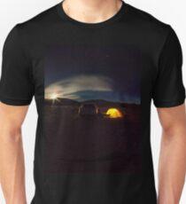 moonlight over eureka dunes, death valley, california T-Shirt