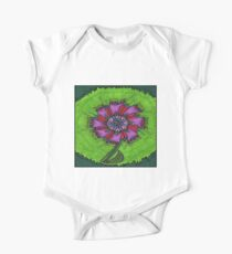 Flower Green Kids Clothes