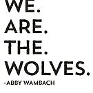 We Are The Wolves by Jenn Reese