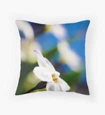 ...face turned toward the sun... Throw Pillow