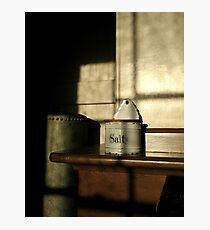 """SALT BOX"" Photographic Print"