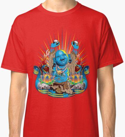 Happy Kustom Kulture Buddha Classic T-Shirt