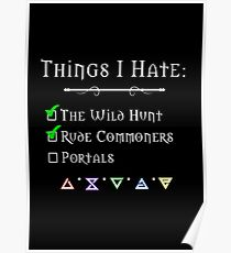 Things I Hate Poster