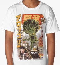 THE BROCCOZILLA Long T-Shirt