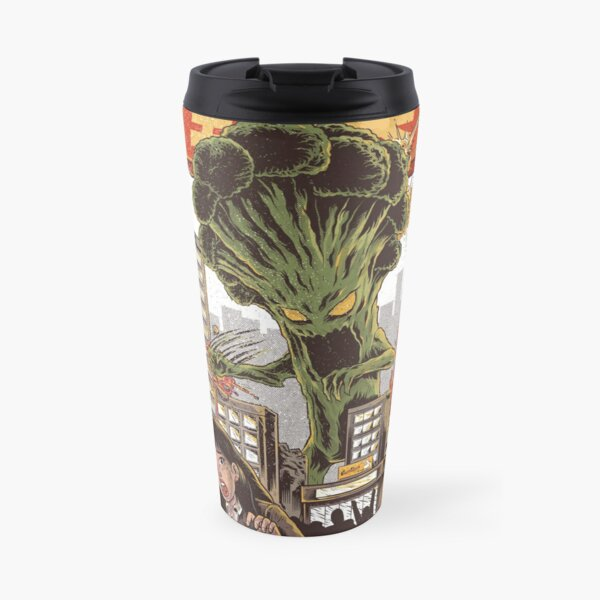 THE BROCCOZILLA Travel Mug