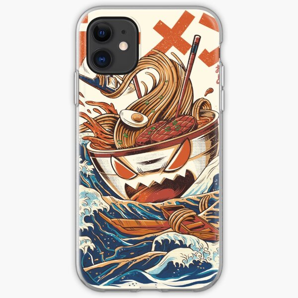 The Great Ramen off Kanagawa iPhone Soft Case
