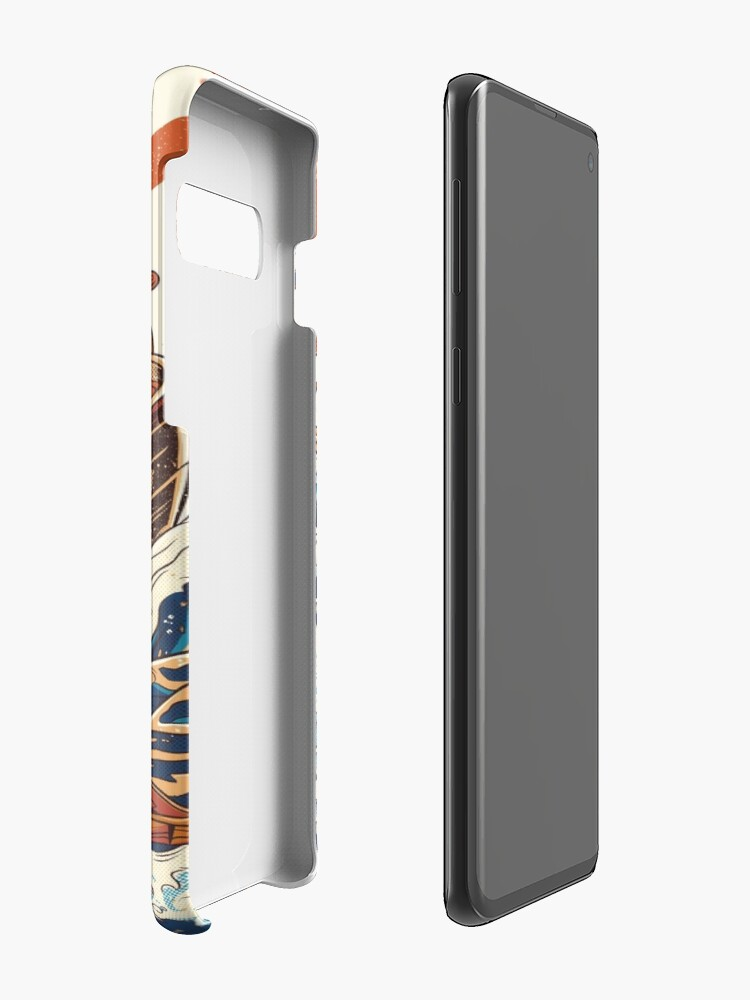 Alternate view of The Great Ramen off Kanagawa Cases & Skins for Samsung Galaxy