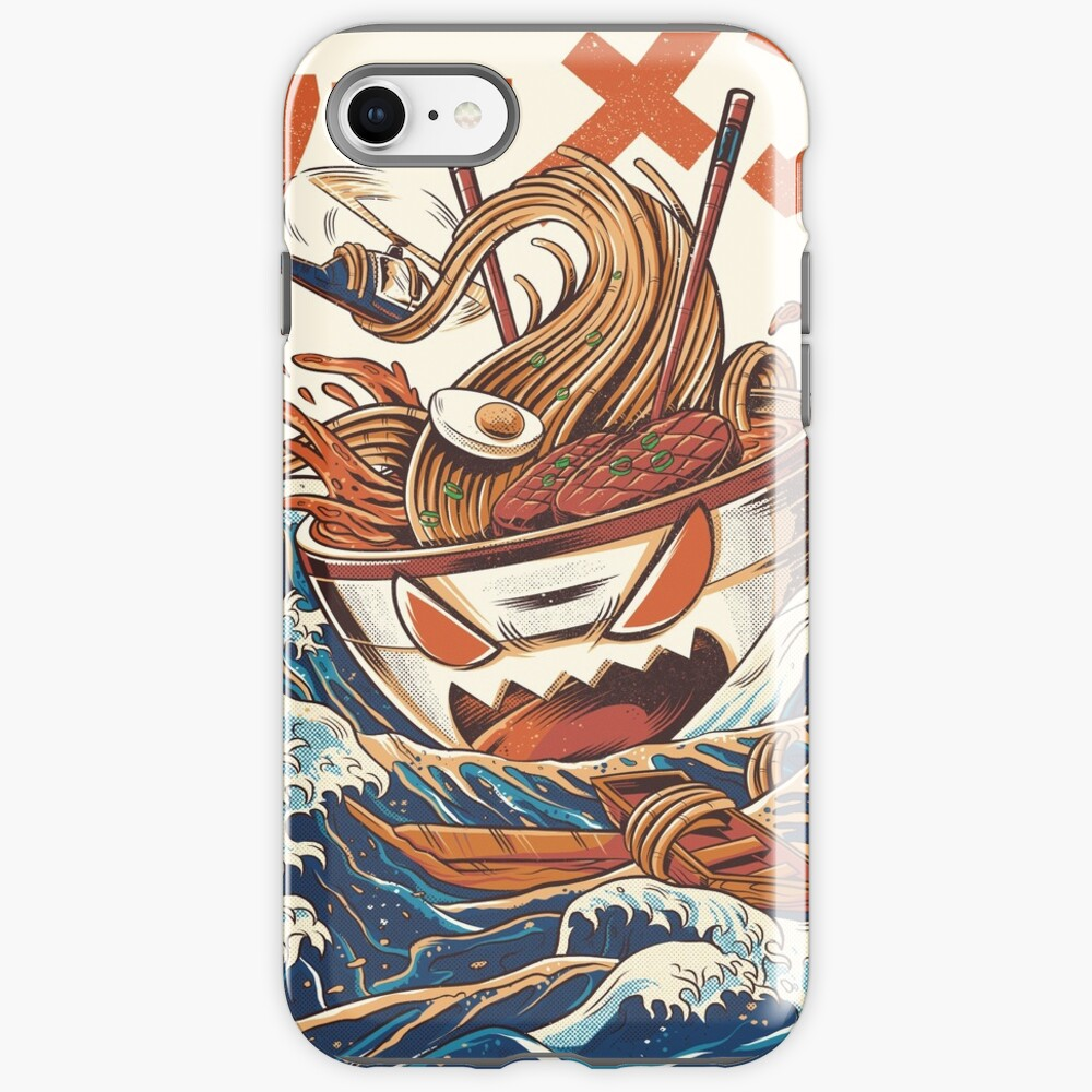 The Great Ramen off Kanagawa iPhone Case & Cover