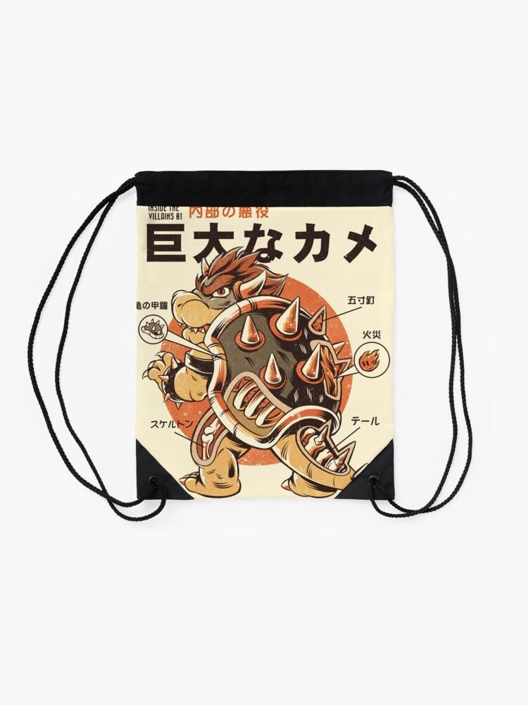 Alternate view of Bowserzilla Drawstring Bag