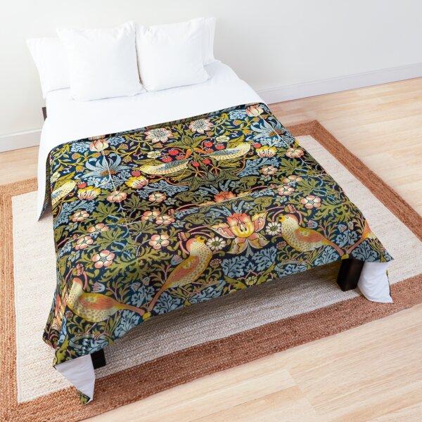 William Morris Strawberry Thief Design 1883 Comforter
