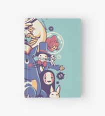 Creatures Spirits and friends Hardcover Journal