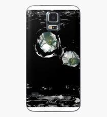 Blumen-Träne Hülle & Klebefolie für Samsung Galaxy