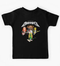 Master of Muppets 2 - Muppets as Metallica Band Kids Tee