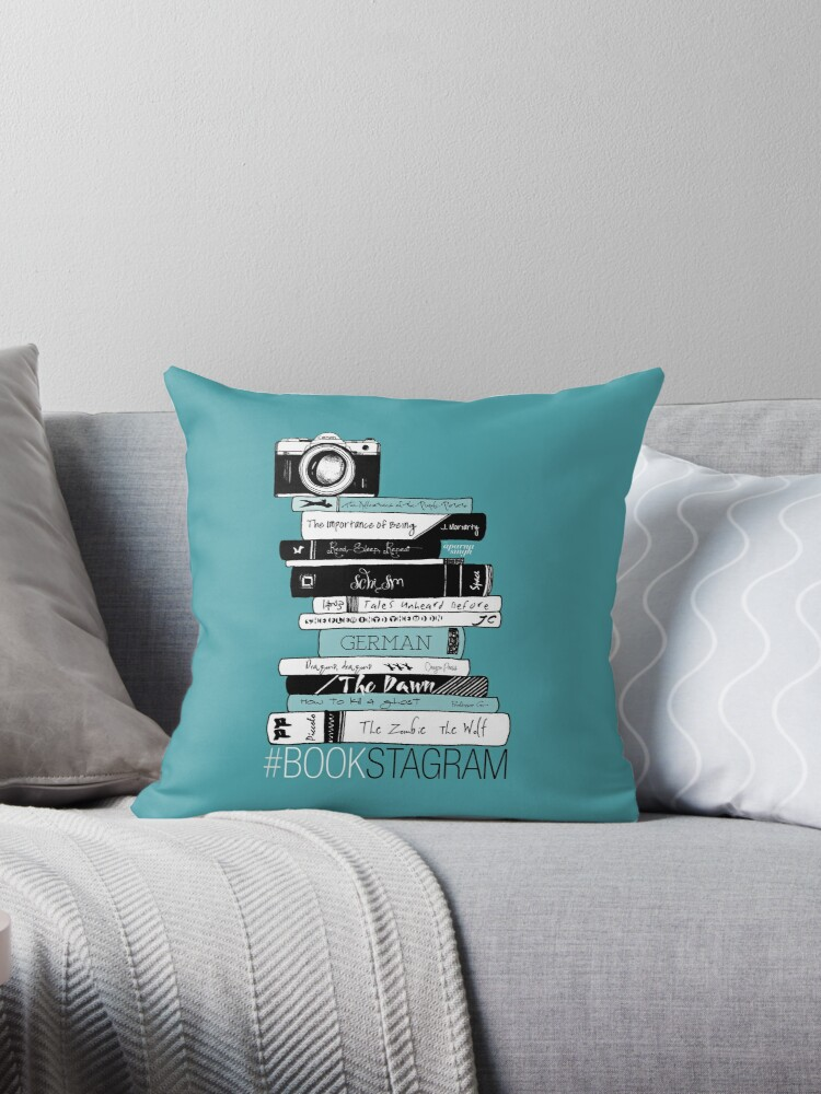 #BOOKSTAGRAM - Stack of Books (Mint Teal Green) by mydoodlesateme