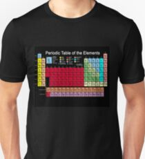 Periodic table of the Elements updated Unisex T-Shirt