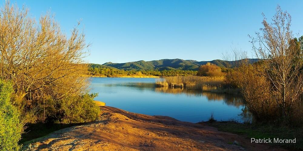 Winter panorama around the lake by Patrick Morand