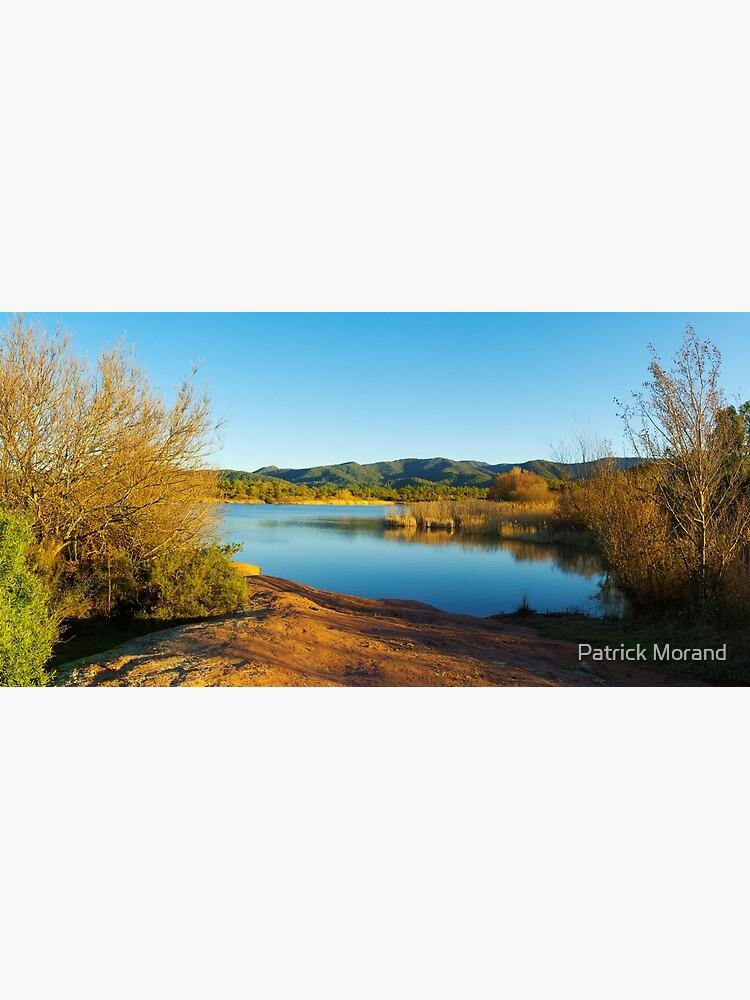 Winter panorama around the lake by patmo