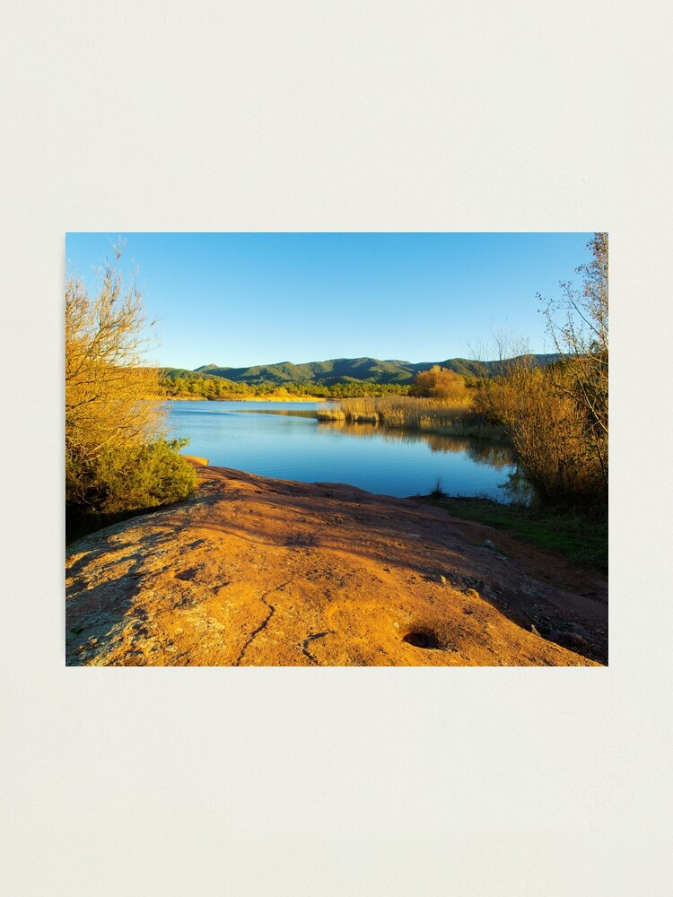 Alternate view of Winter in Provence Photographic Print