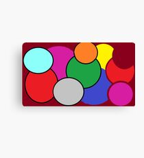 Circles and Colors are Fun! Canvas Print