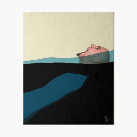 Help Art Board Print
