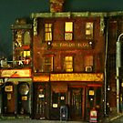 city scene by robert  leland taylor