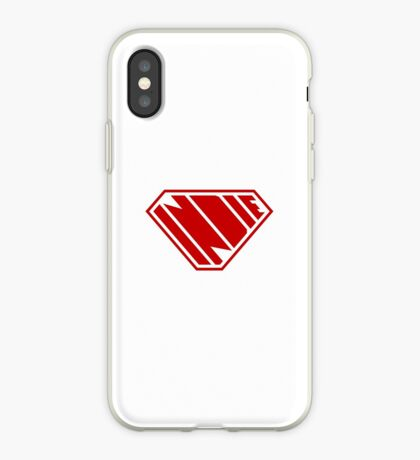 Indie SuperEmpowered (Red) iPhone Case