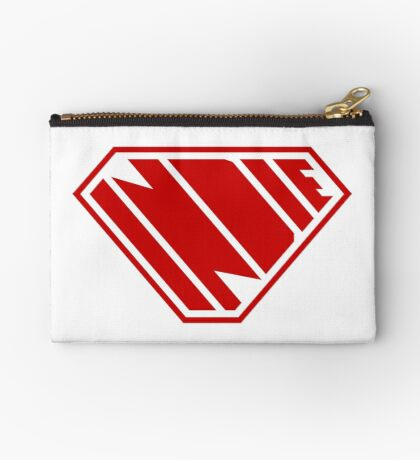 Indie SuperEmpowered (Red) Zipper Pouch