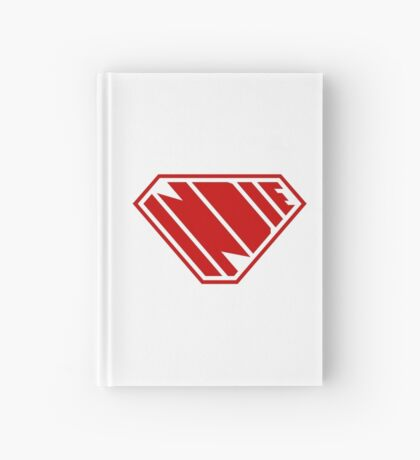 Indie SuperEmpowered (Red) Hardcover Journal