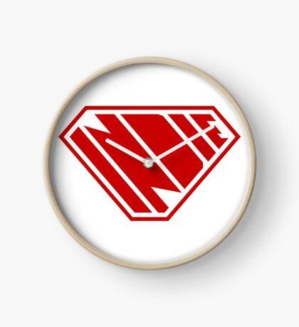 Indie SuperEmpowered (Red) Clock
