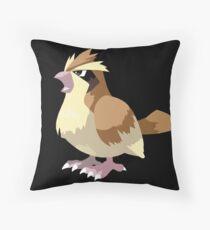 Pidgey Pokemon Simple No Borders Throw Pillow
