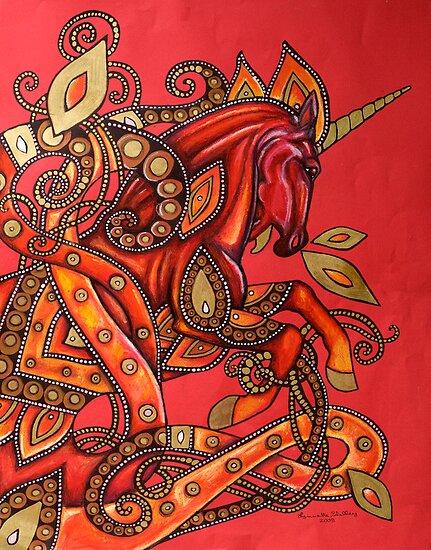 Fire Horse by Lynnette Shelley