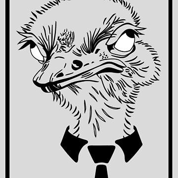 Ostrich by Czerra