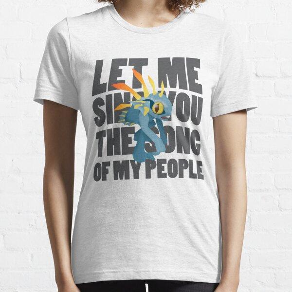 Lass mich dich singen (Murloc) Lied meines Volkes Essential T-Shirt