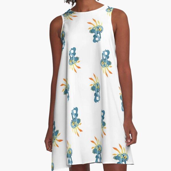 Everyone Loves a Murloc  A-Line Dress