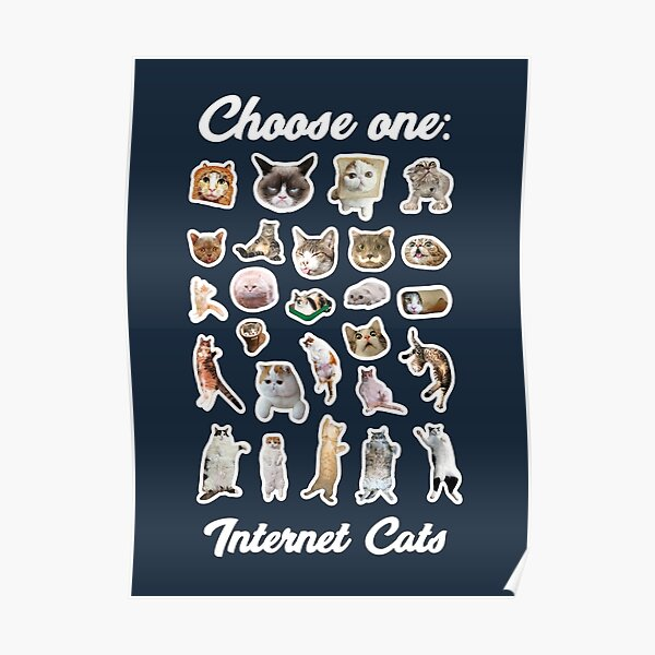 Internet Cats Poster