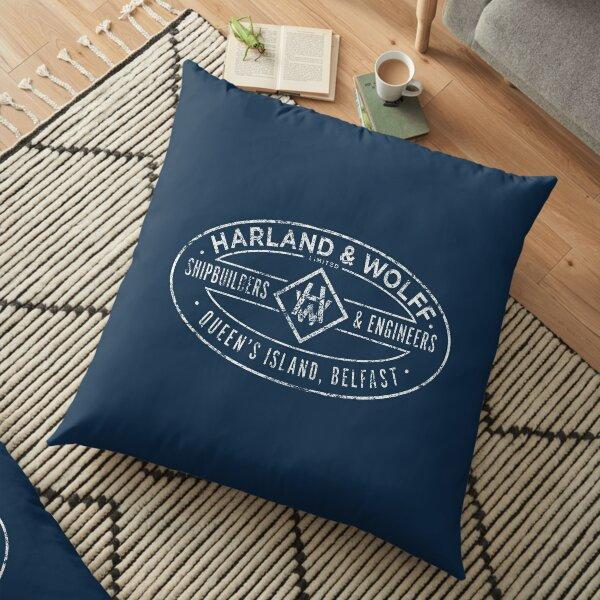 Harland & Wolff Floor Pillow