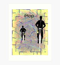iHop Art Print