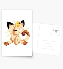 meowth. Postcards