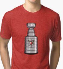 Camiseta de tejido mixto VEGAS GOLDEN KNIGHTS   quot  STANLEY CUP   quot   Logotipo 22d616ceff7a5