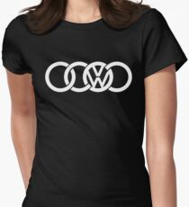 AUDI VW Womens Fitted T-Shirt