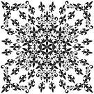 roue de lys (version noir) by HoremWeb