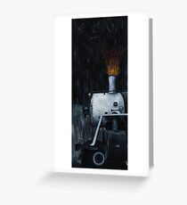 Fire and Steam Greeting Card