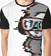 Glitchy Chimmy Graphic T-Shirt