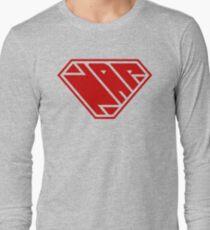 Power Nap (Red) Long Sleeve T-Shirt